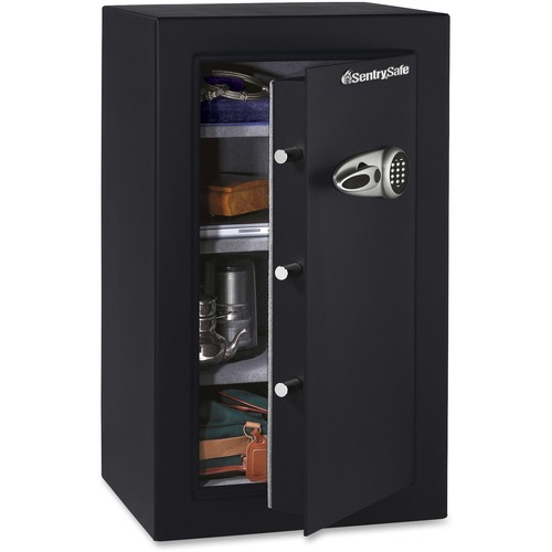 Sentry Safe Executive Security 6 10 Ftà ³ Electronic Lock Pry Resistant Overall Size 37 7 X 27 19 8 Black Steel
