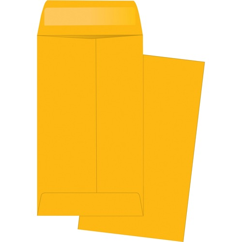 Business Source Little Coin No. 5-1/2 Kraft Envelopes