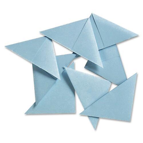 Blueline Document Corner - Light Blue - 100 / Pack