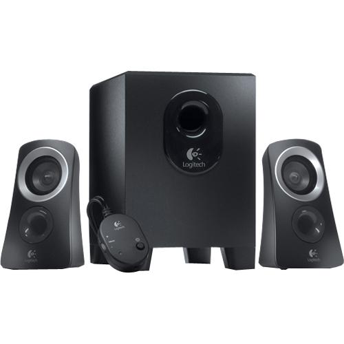 Logitech Z313 2.1 Speaker System - 25 W RMS - 48 Hz - 20 kHz