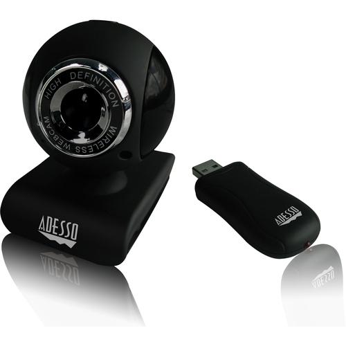 Adesso CyberTrack V10 - 2.4 GHz Wireless Webcam