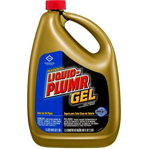 Liquid-Plumr Drain Cleaner - Gel - 77.8 fl oz (2.4 quart) - 1 Each