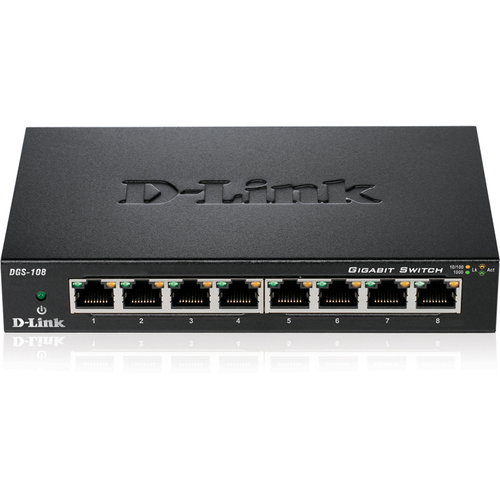 D-Link DGS-108 8 Ports Ethernet Switch