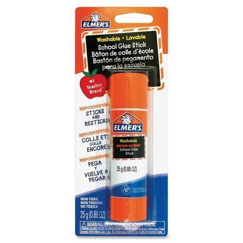 Elmer's School Glue Stick - 25 g - 1 Each - Clear