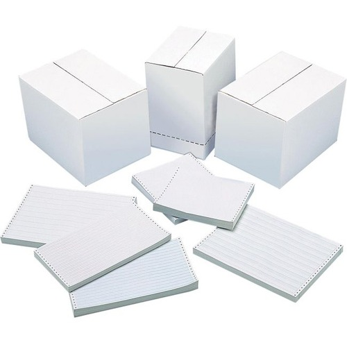 """DATA 1501-R0N Continuous Paper - 14 7/8"""" x 11"""" - 15 lb Basis Weight - 3500 / Box"""