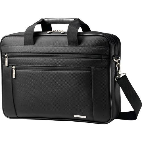"Business Briefcase, 16-1/2""x4-1/2""x12"", Black"