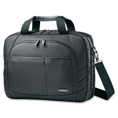 "Laptop Business Case, to 15.6"",16-1/2""x4-3/4""x12-3/4"",BK"