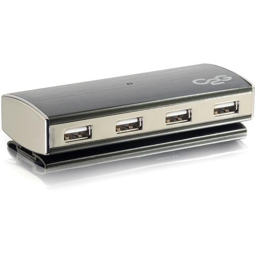 7-PORT USB 2.0 ALUMINUM HUB FOR CHROMEBOOKS, LAPTOPS, AND DESKTOPS