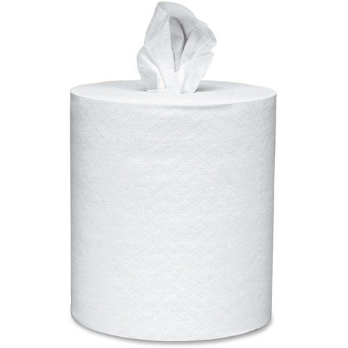"Scott Center-pull Paper Towels - 8"" x 15"" - 500 Sheets/Roll - 8.80"" Roll Diameter - White - Paper - Absorbent, Center Pull - For Hand - 4 / Carton"