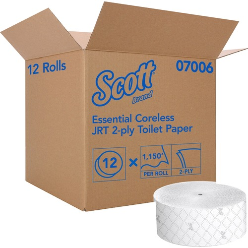 Kimberly-Clark Professional Essential Jumbo Roll Coreless Toilet Paper