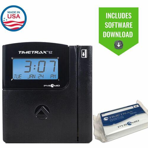 uAttend BN6500 Time Clock - Biometric - 5000 Employees