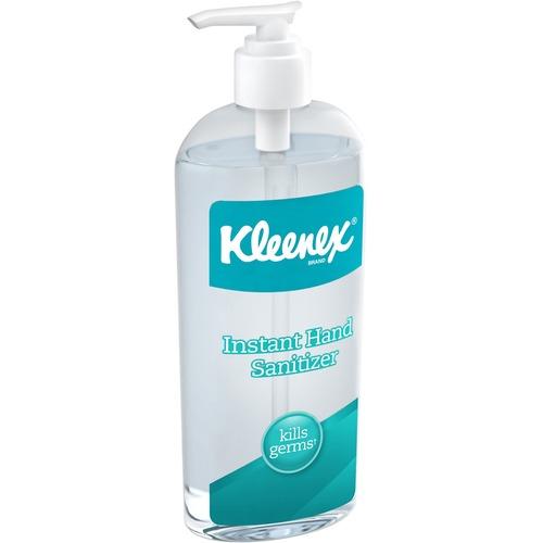 Kleenex Hand Sanitizer - 8 fl oz (236.6 mL) - Kill Germs - Hand - Clear - 1 Each