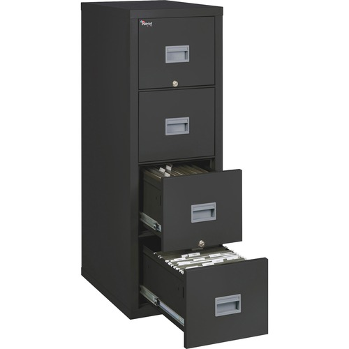 """FireKing Patriot Series 4-Drawer Vertical Files - 17.7"""" x 25"""" x 52.8"""" - 4 x Drawer(s) for File - Letter, Legal - Vertical - Fire Proof, Impact Resista"""