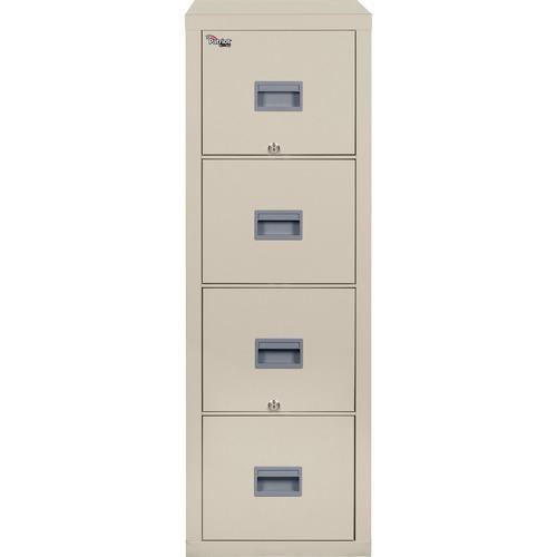 "FireKing Patriot Series 4-Drawer Vertical Fire Files - 17.7"" x 31.6"" x 52.8"" - 4 x Drawer(s) for File - Letter - Vertical - Fire Proof, Impact Resista"