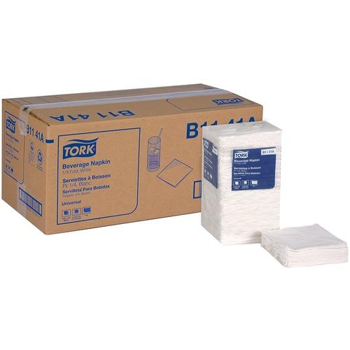 Tork Napkins - 1 Ply - White - 500 / Pack