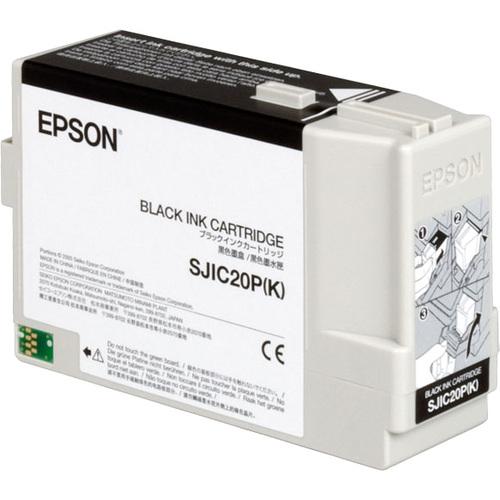 Epson SJIC20PK Ink Cartridge - Black