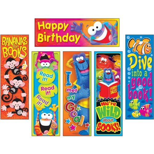 TEP T12909 Trend Clever Characters Bookmark Combo Pack