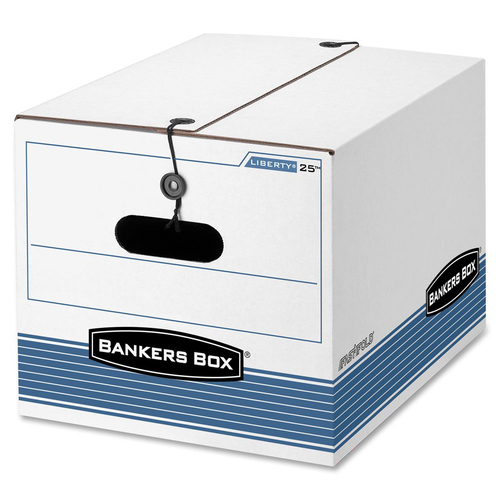 "Bankers Box STOR/FILE™ - Letter/Legal - Internal Dimensions: 12"" (304.80 mm) Width x 15.50"" (393.70 mm) Depth x 10.25"" (260.35 mm) Height - Exte"