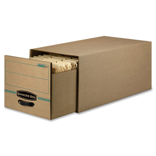 "Bankers Box Recycled Stor/Drawer® - Letter - Internal Dimensions: 12.50"" (317.50 mm) Width x 23.25"" (590.55 mm) Depth x 10.38"" (263.52 mm) Height"