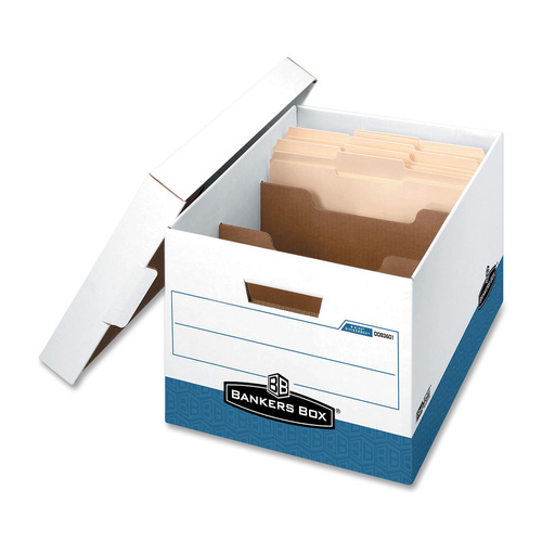 """Bankers Box R-Kive Divider Boxes - TAA Compliant - Internal Dimensions: 12"""" (304.80 mm) Width x 15"""" (381 mm) Depth x 10"""" (254 mm) Height - External Di"""