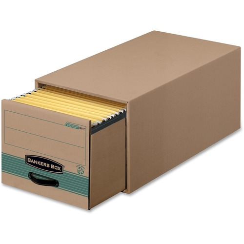 """Bankers Box Stor/Drawer File - TAA Compliant - Internal Dimensions: 12.50"""" (317.50 mm) Width x 23.25"""" (590.55 mm) Depth x 10.38"""" (263.52 mm) Height -"""