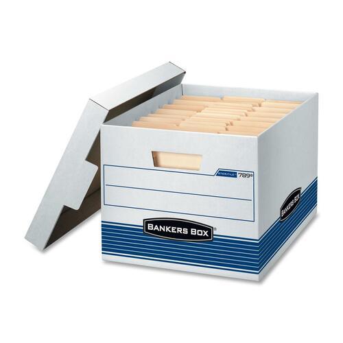 "Bankers Box Quick/Storage Box - Internal Dimensions: 12"" (304.80 mm) Width x 15"" (381 mm) Depth x 10"" (254 mm) Height - External Dimensions: 12.8"" Wid"