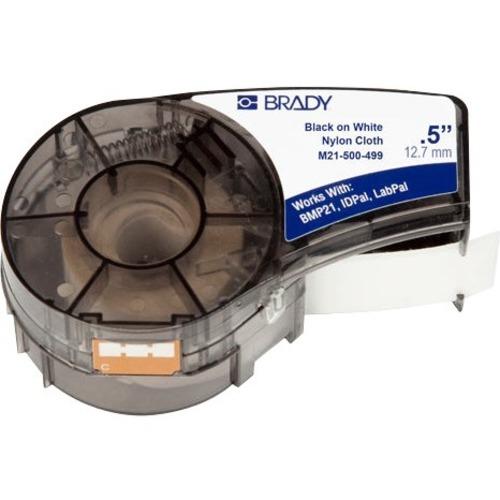 Brady Label Cartridge for BMP21 Series, ID PAL, LabPal Printers, White