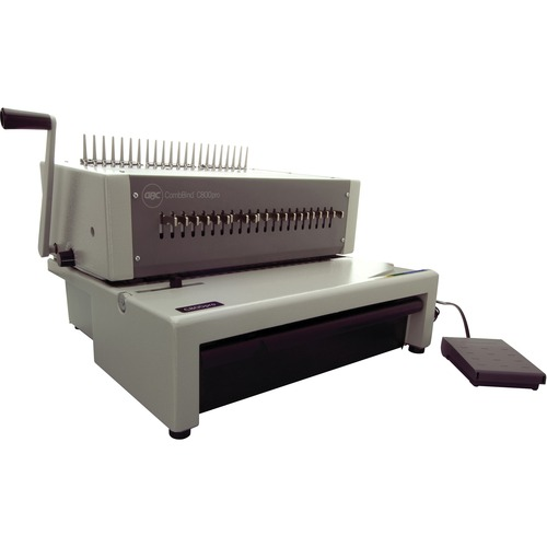 Acco CombBind C800pro Electric Binding System - CombBind - 500 Sheet(s) Bind - 25 Punch