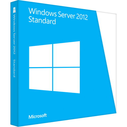 Microsoft Windows Server 2012 Standard 64-bit | License and Media | 2 Processor