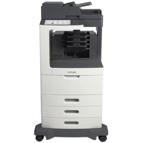 Lexmark MX811DTME Laser Multifunction Printer | Monochrome | Plain Paper Print | Desktop
