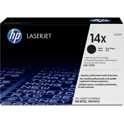 HP 14X Toner Cartridge - Black