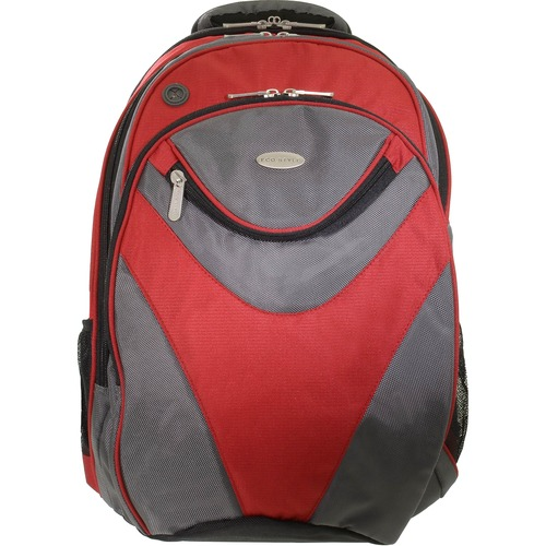"""ECO STYLE Vortex Carrying Case (Backpack) for 16.1"""" Notebook, Key, Cellular Phone, Pen, Pencil, Accessories, Sunglasses"""