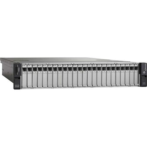 UCUCS-EZ-C240M3S Cisco C240 M3 2U Rack Server - 2 x Xeon E5-2680 - 96 GB  RAM - 4 80 TB (16 x 300 GB) HDD - Serial ATA, Serial Attached SCSI (SAS)