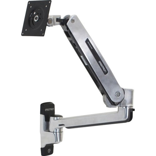 LX Sit-Stand Wall Mount LCD Arm (polished aluminum)