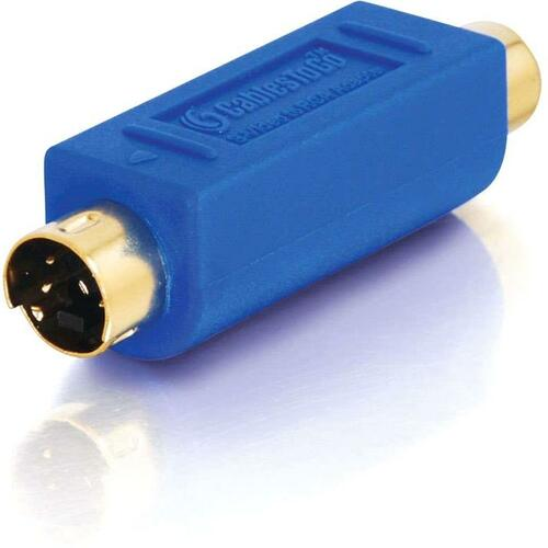Bi-Directional S-Video Male to RCA Female Video Adapter