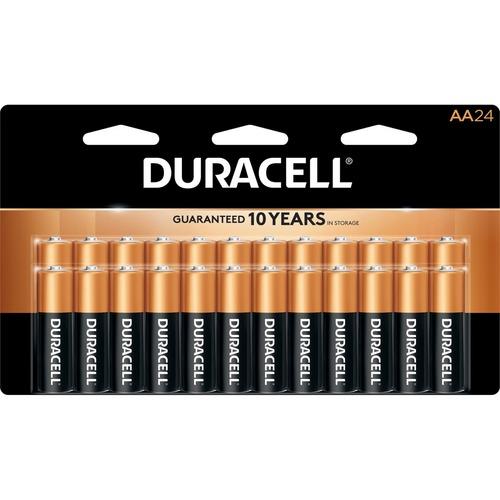 Duracell Coppertop Alkaline AA Batteries