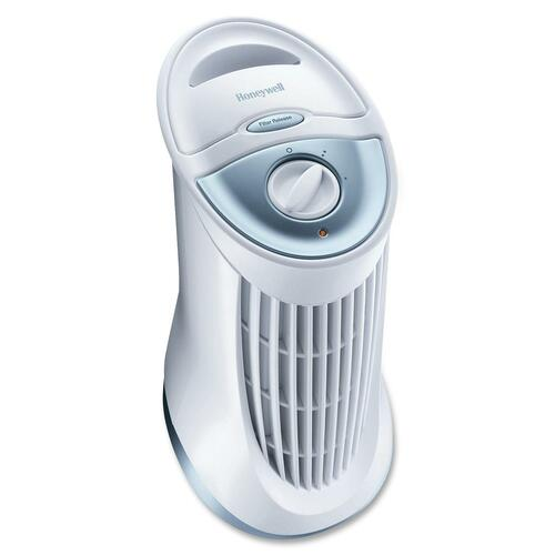 Honeywell Compact Tower Air Purifier with Permanent Filter - IFD - 5.8 m² - White, Gray