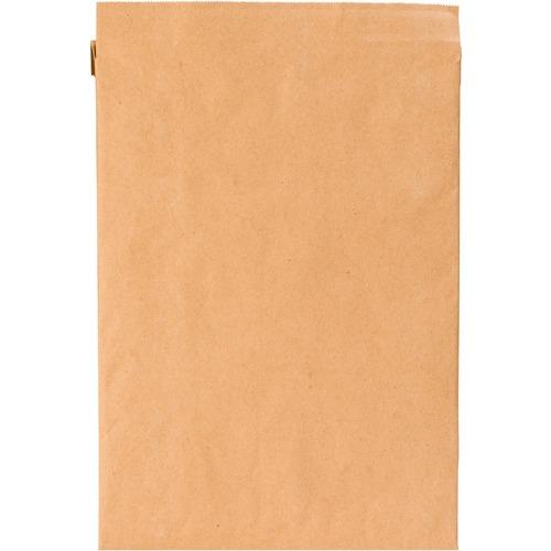 "Sealed Air Jiffy Padded Brown Kraft Mailers - Padded - 8 1/2"" Width x 12"" Length - Gummed - Kraft, Satin - 1 Each - Brown, Gold"