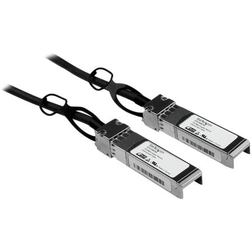 StarTech.com 1m Cisco Compatible SFPplus 10-Gigabit Ethernet 10GbE Twinax Direct Attach Cable