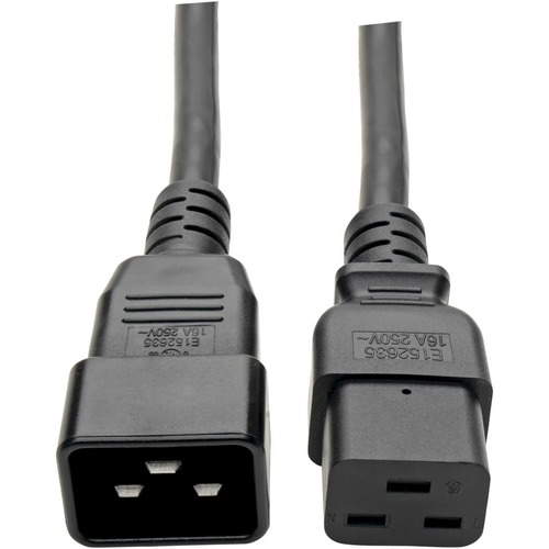 Heavy-Duty Computer Power Extension Cord for Servers and Computers 20A, 12AWG (I