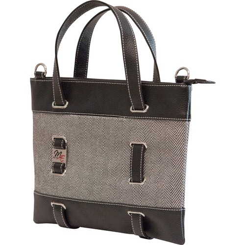 HERRINGBONE ULTRABOOK/TABLET TOTE-14.1P