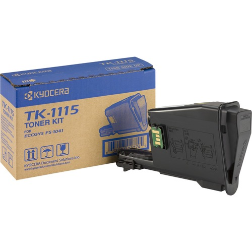 Kyocera TK-1115 Black Toner Cartridge - TK-1115