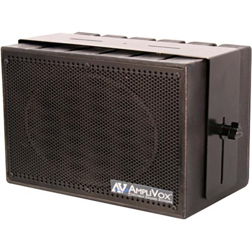AmpliVox Mity Box S1230 50 W RMS Speaker - Black