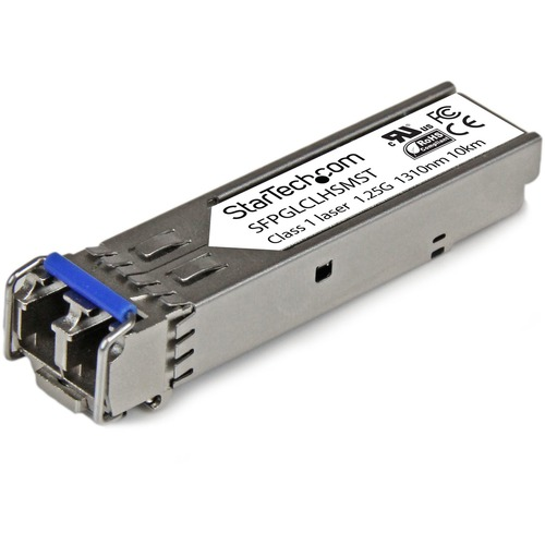 StarTech.com Cisco Compatible Gigabit Fiber SFP Transceiver Module (SFPGLCLHSMST)