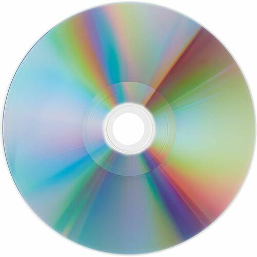 VERBATIM - AMERICAS LLC 100PK CD-R 80MIN 700MB 52X SHINY SILVER SPINDLE HUB PRINTABLE
