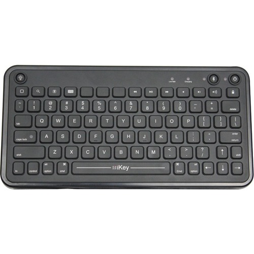 RUGGED BLUETOOTH KEYBOARD FOR IPAD WITH MULTILEVEL BACKLIGHT, VESA MOUNTING HOLE