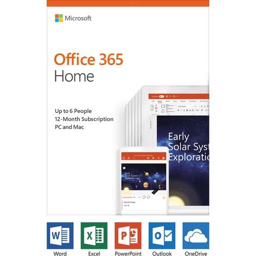 Microsoft Office 365 Home Premium 32/64-bit | Subscription License | 5 PC/Mac, 5 Tablet, 5 Smartphone | 1 Year