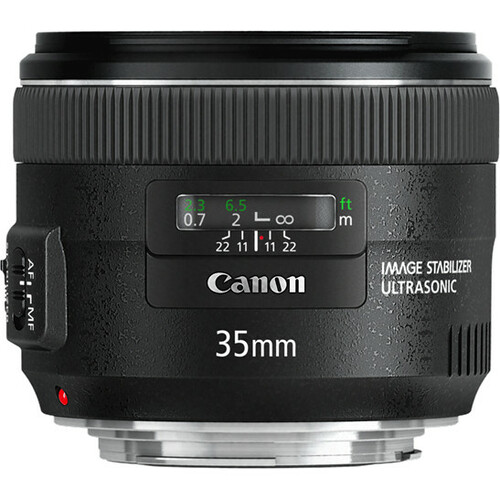 Canon - 35 mm - f/2 - Wide Angle Lens for Canon EF/EF-S - 67 mm Attachment - 0.24x MagnificationOptical IS - USM - 77.9 mmDiameter