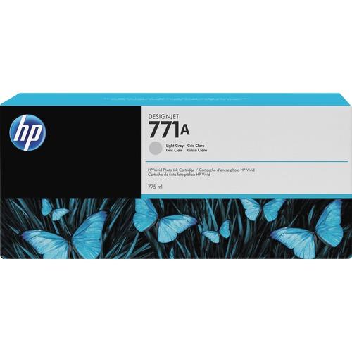 HP INC. - WIDE FORMAT INK 771A 775ML LIGHT GRAY INK CART F/ DESIGNJET