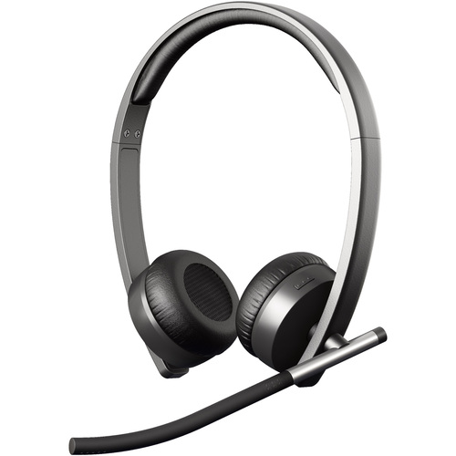 Logitech H820e Wireless DECT Stereo Headset - Over-the-head - Circumaural